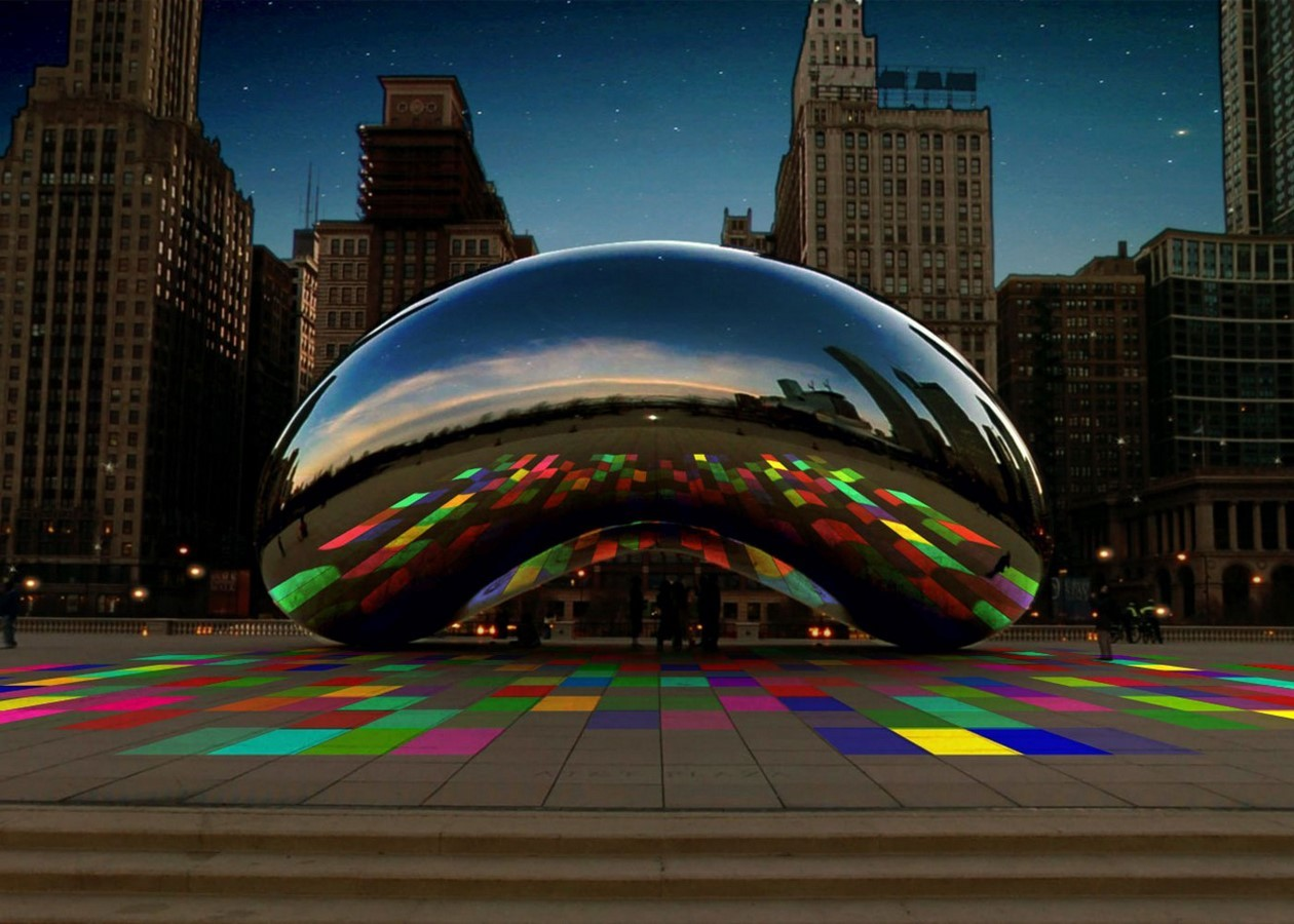 Effects of digital technology on Anish Kapoor's works - Sheet13