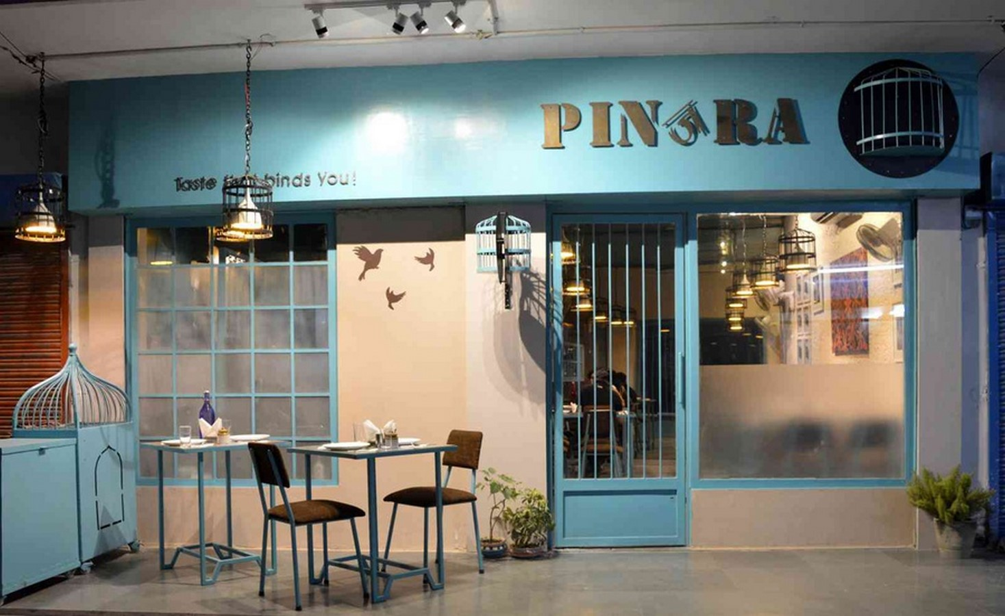 Pinjra restaurant -Sheet2
