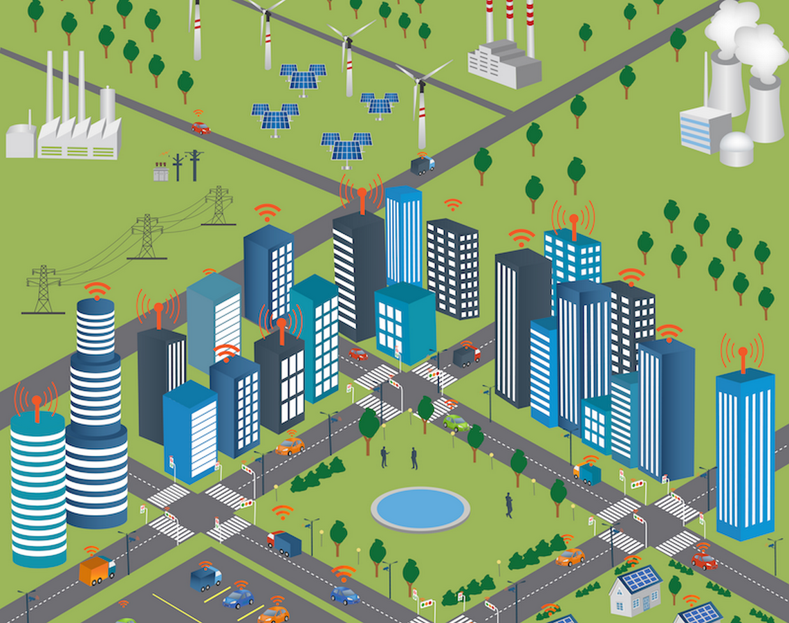 How are Smart Grids helpful in the development of Smart City - Sheet4