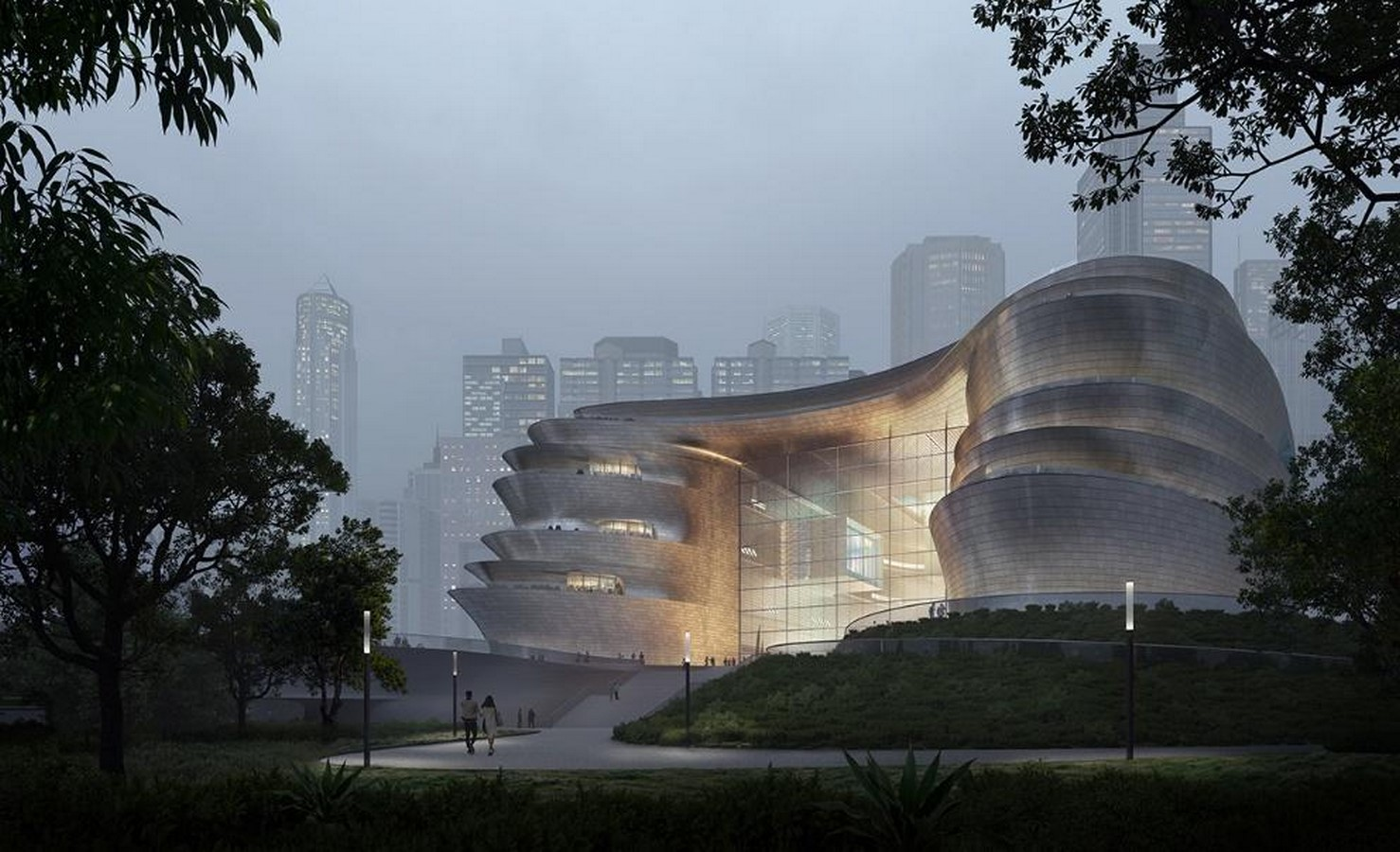 Pebble-shaped science museum for Shenzhen unveiled by Zet1aha Hadid Architects- Sheet1