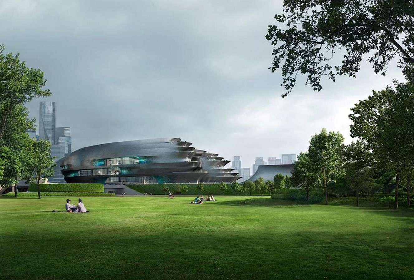Pebble-shaped science museum for Shenzhen unveiled by Zet1aha Hadid Architects- Sheet3