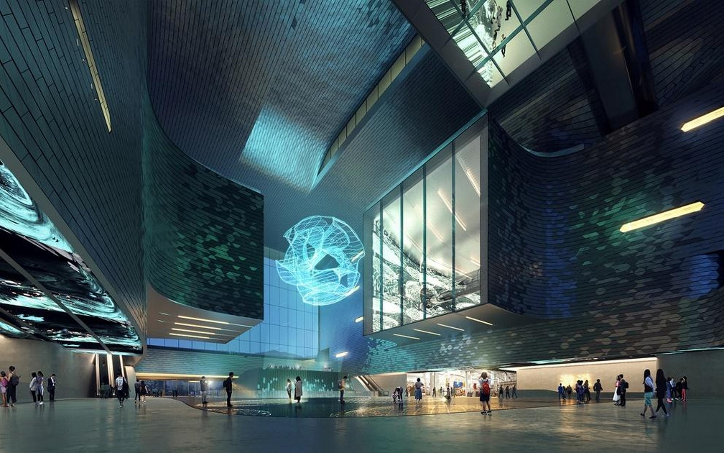 Pebble-shaped science museum for Shenzhen unveiled by Zet1aha Hadid Architects- Sheet4