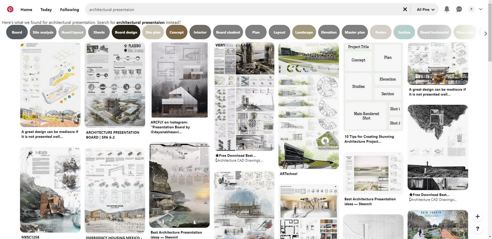 10 Tips on architectural presentation for students- Sheet8