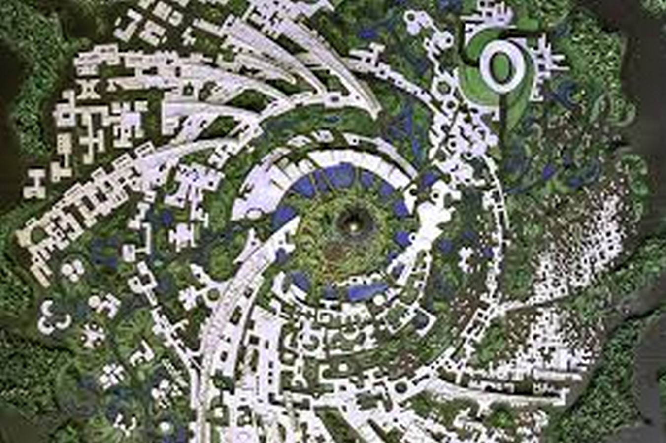 The master plan of Auroville - Sheet1