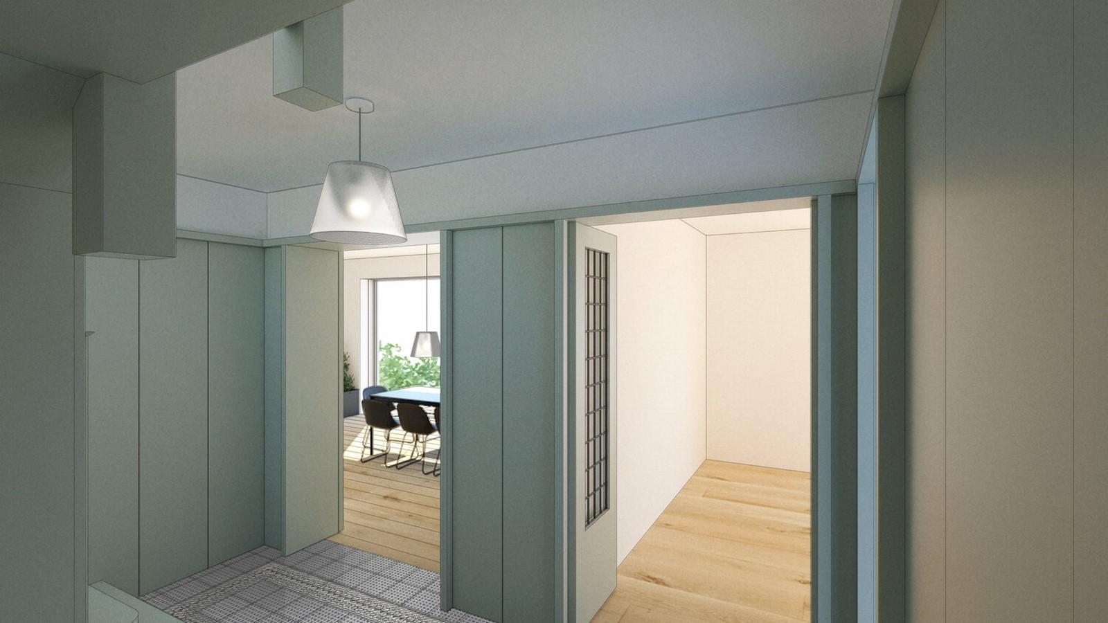 Dulwich Village, Extension Project- Sheet3