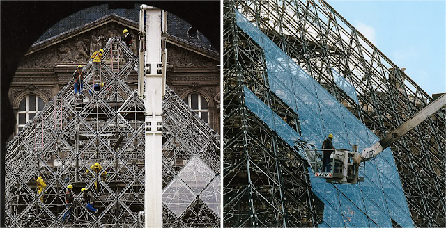 Louvre Pyramid by I.M, Pei: The Glass Pyramid- Sheet12