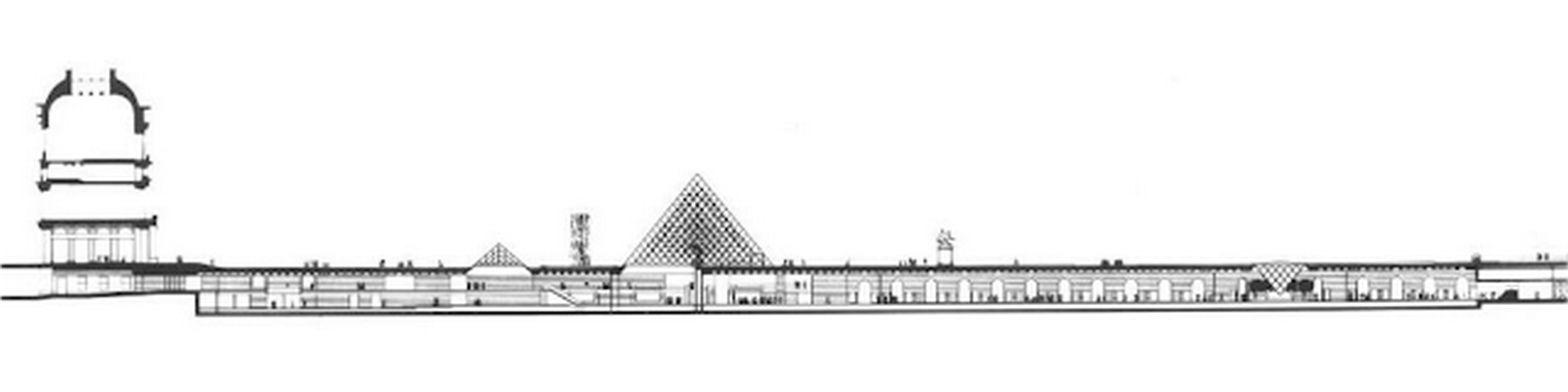 Louvre Pyramid by I.M, Pei: The Glass Pyramid- Sheet18