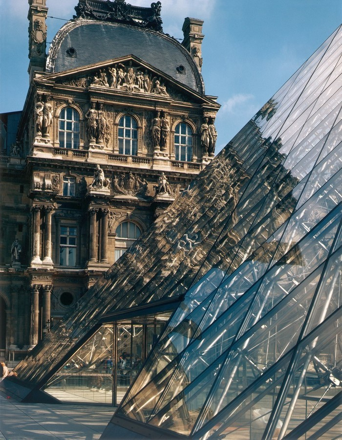 Louvre Pyramid by I.M, Pei: The Glass Pyramid- Sheet5