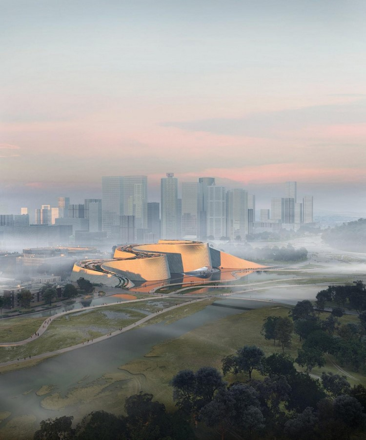 Shenzhen Natural History Museum mimics the flow of rivers- Sheet1