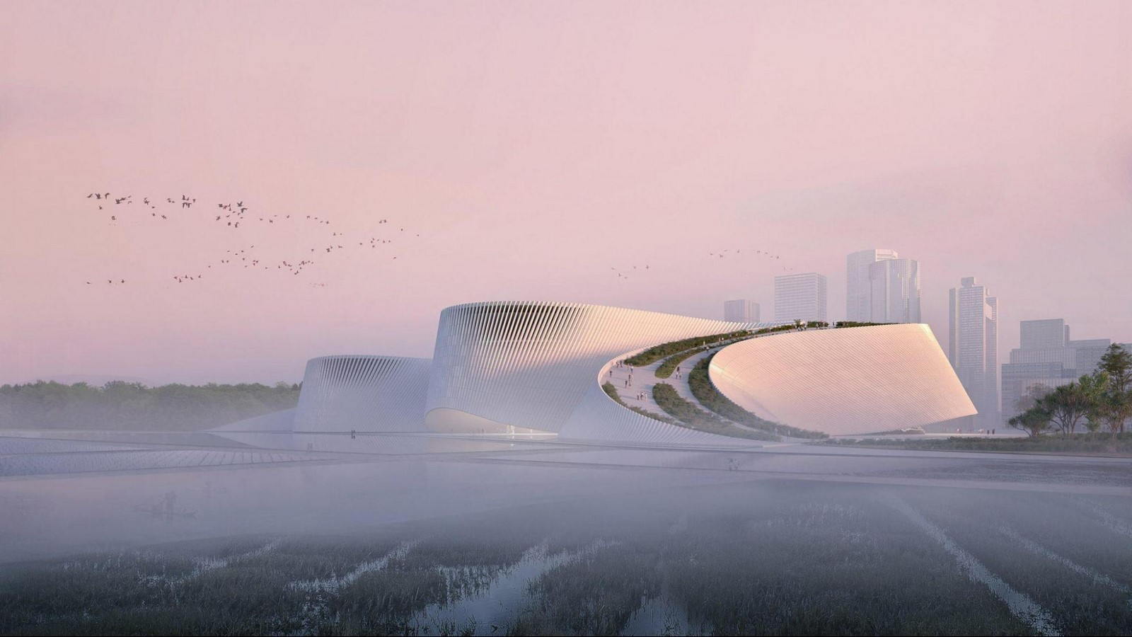 Shenzhen Natural History Museum mimics the flow of rivers- Sheet3
