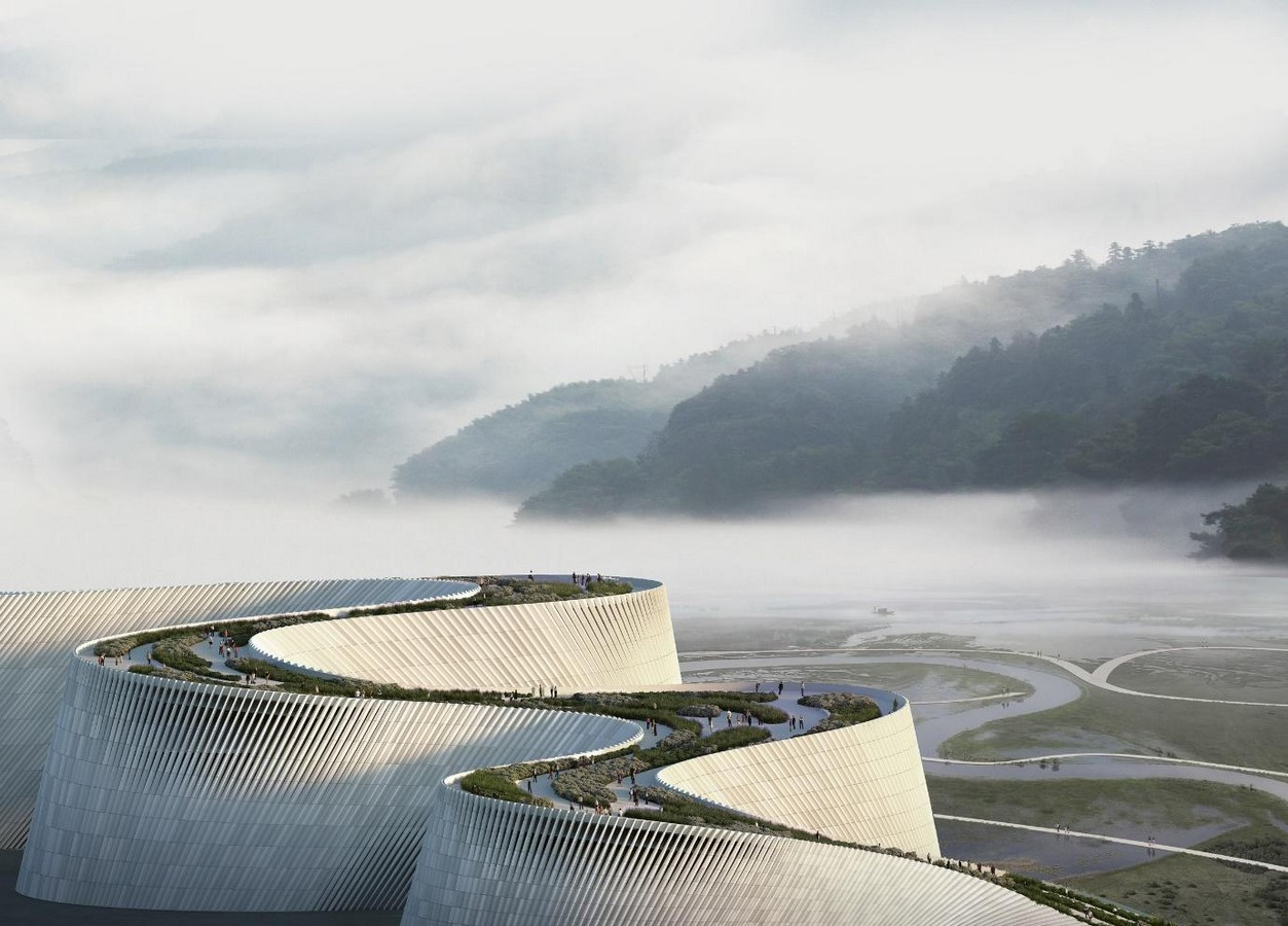 Shenzhen Natural History Museum mimics the flow of rivers- Sheet4