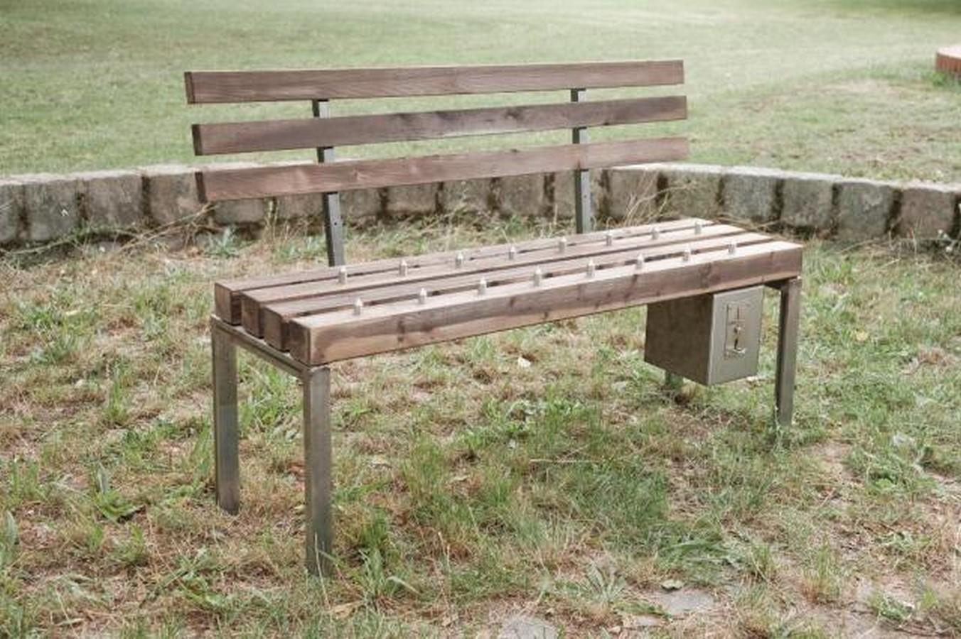 Pay & Sit benches in Shandong, China- sheet1