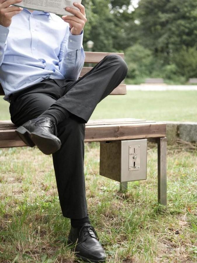 Pay & Sit benches in Shandong, China- sheet3