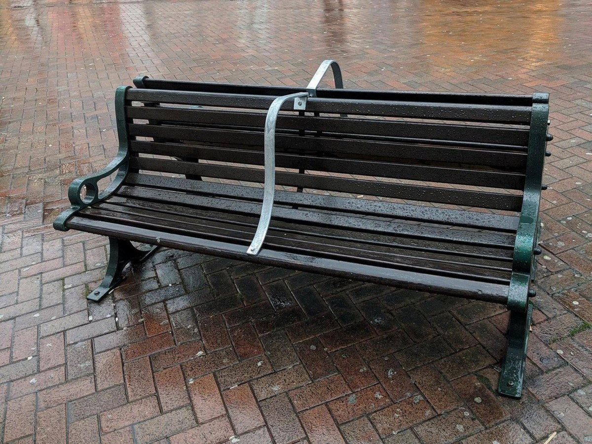 Sectioned benches in England- Sheet1