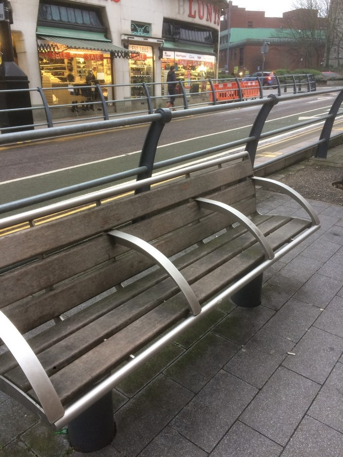 Sectioned benches in England- Sheet2
