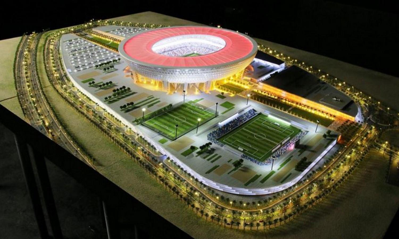 Mohammed bin Rashid Stadium, Dubai - Sheet2