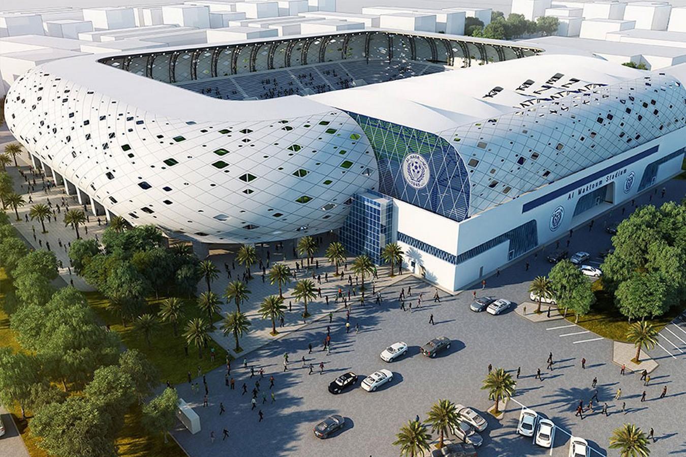Al-Maktoum Stadium, Dubai - Sheet2