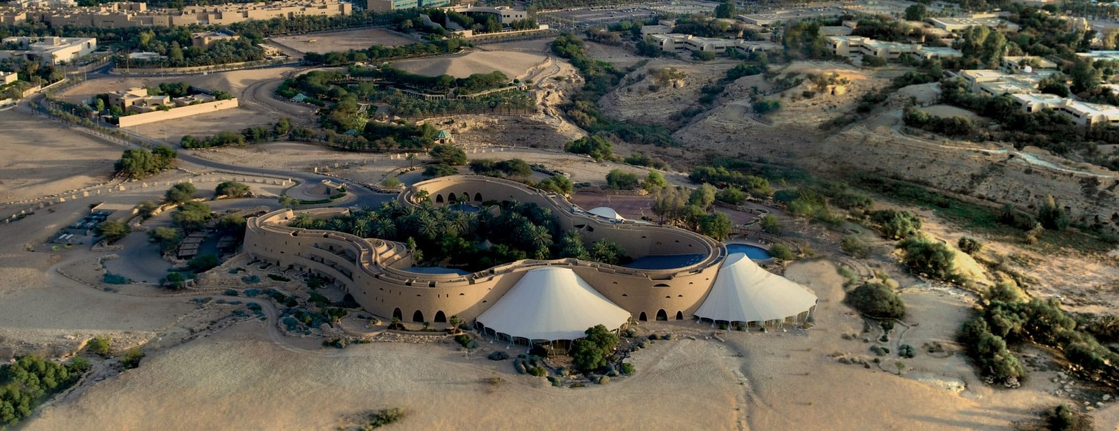 The Tuwaiq Palace by Frei Otto: Pearls in the desert - Sheet1
