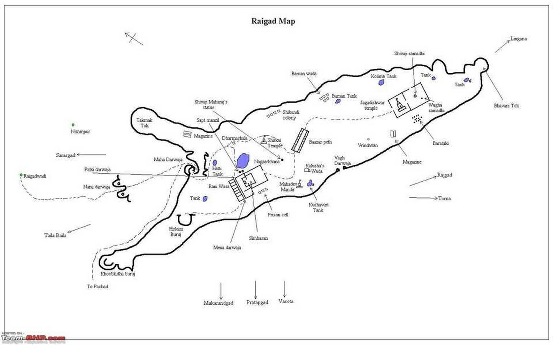 Raigad Fort, Raigad District.- Sheet3