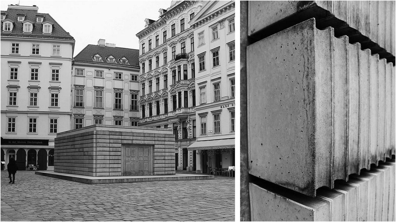 Judenplatz Holocaust Memorial by Rachel Whiteread: A plethora of signs - Sheet1
