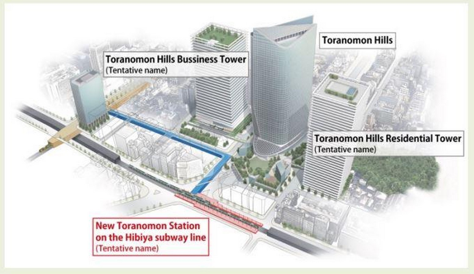 Toranomon Hills Mori Tower by OMA: The First Tower in Tokyo - Sheet4