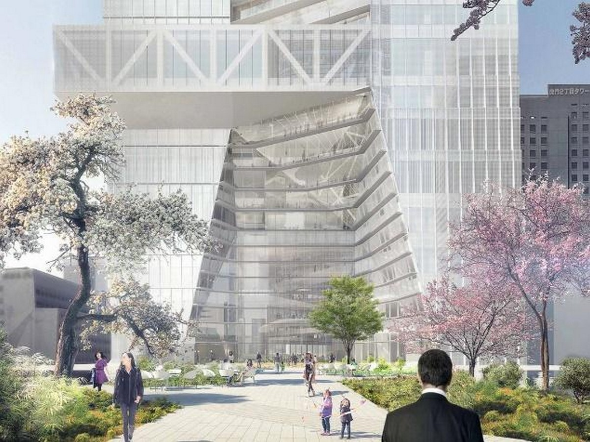 Toranomon Hills Mori Tower by OMA: The First Tower in Tokyo - Sheet5