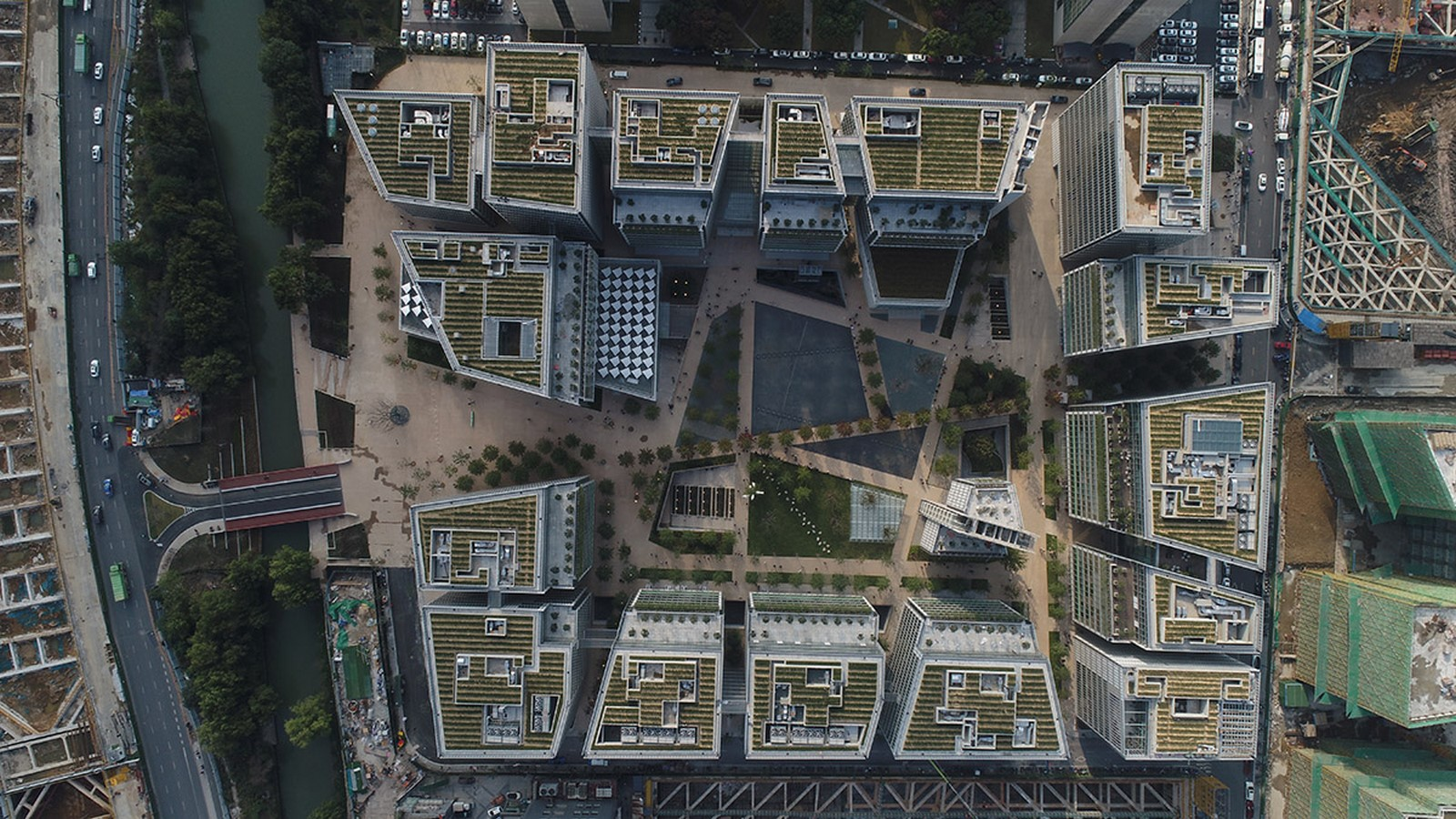 Mega Complex In China completed by Renzo Piano Building Workshop - Sheet1