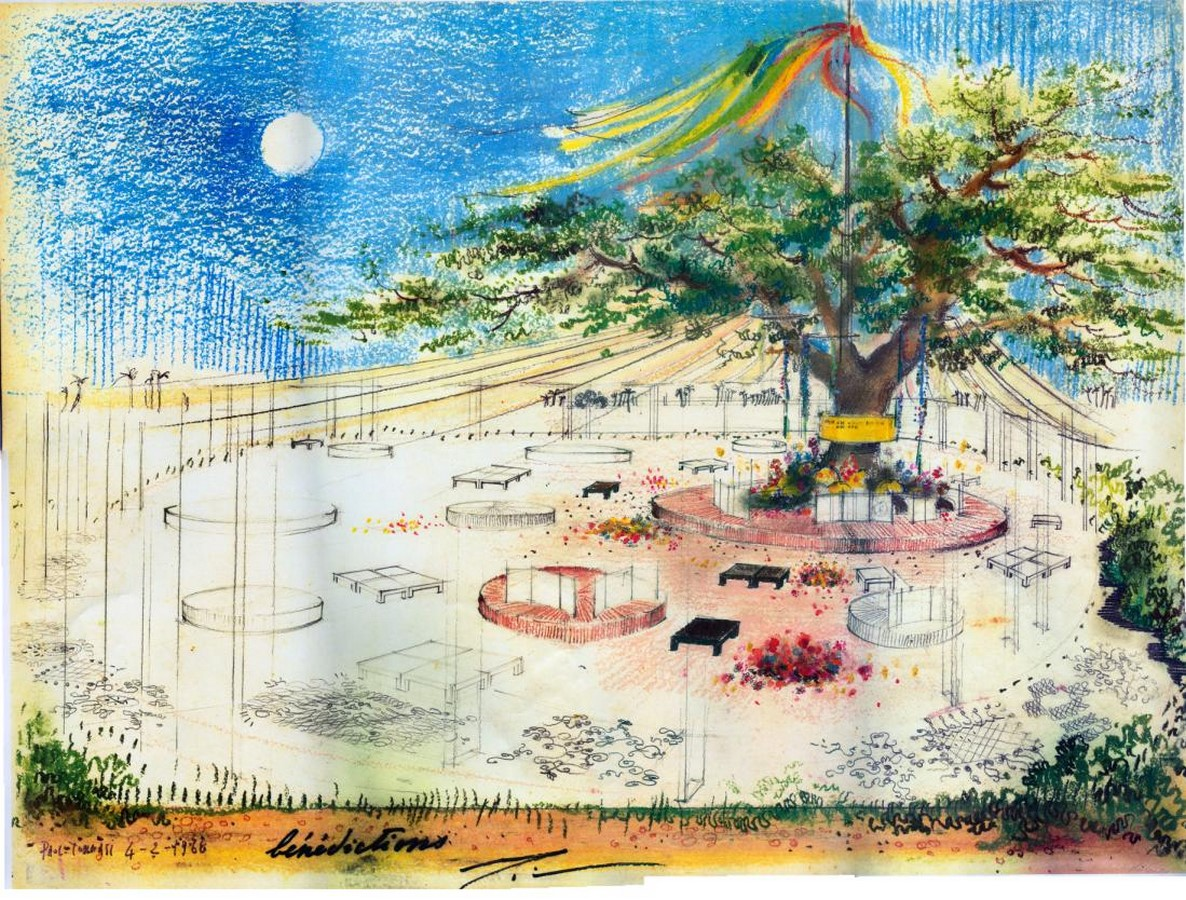 Paolo Tommasi's contribution in shaping Auroville- Sheet14
