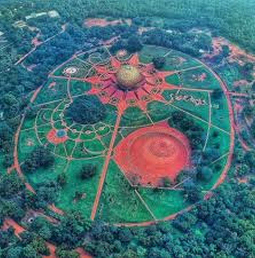 Paolo Tommasi's contribution in shaping Auroville- Sheet2