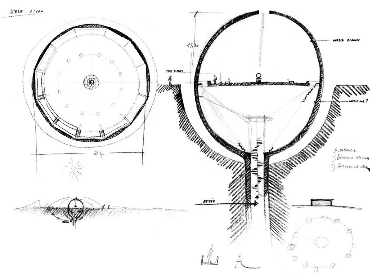 Paolo Tommasi's contribution in shaping Auroville- Sheet3