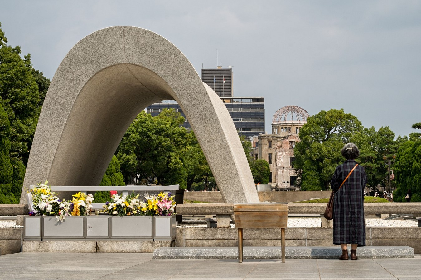 Hiroshima peace Center and memorial park by Kenzo Tange: Symbolizing devotion to peace - Sheet3