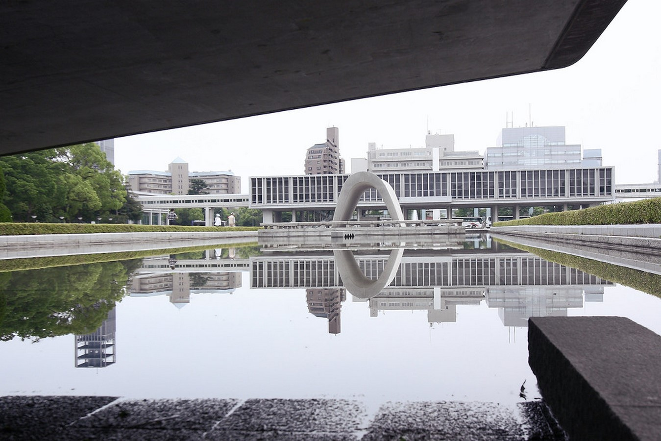Hiroshima peace Center and memorial park by Kenzo Tange: Symbolizing devotion to peace - Sheet6