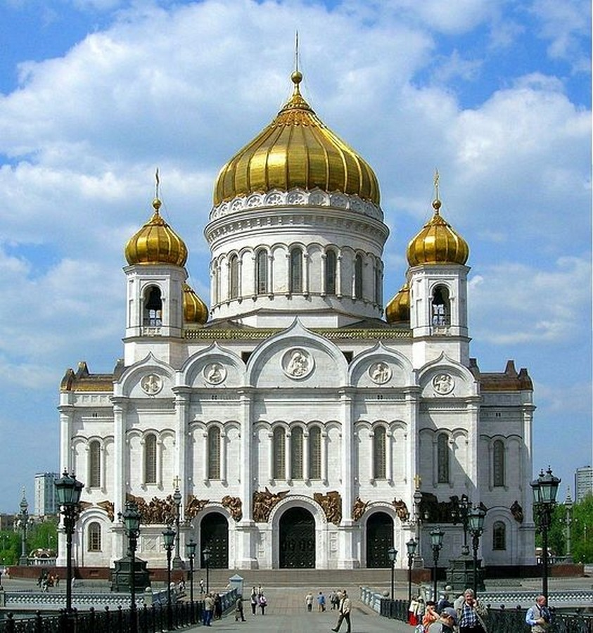 10 Structures that represent the Historical architecture of Russia - Sheet1