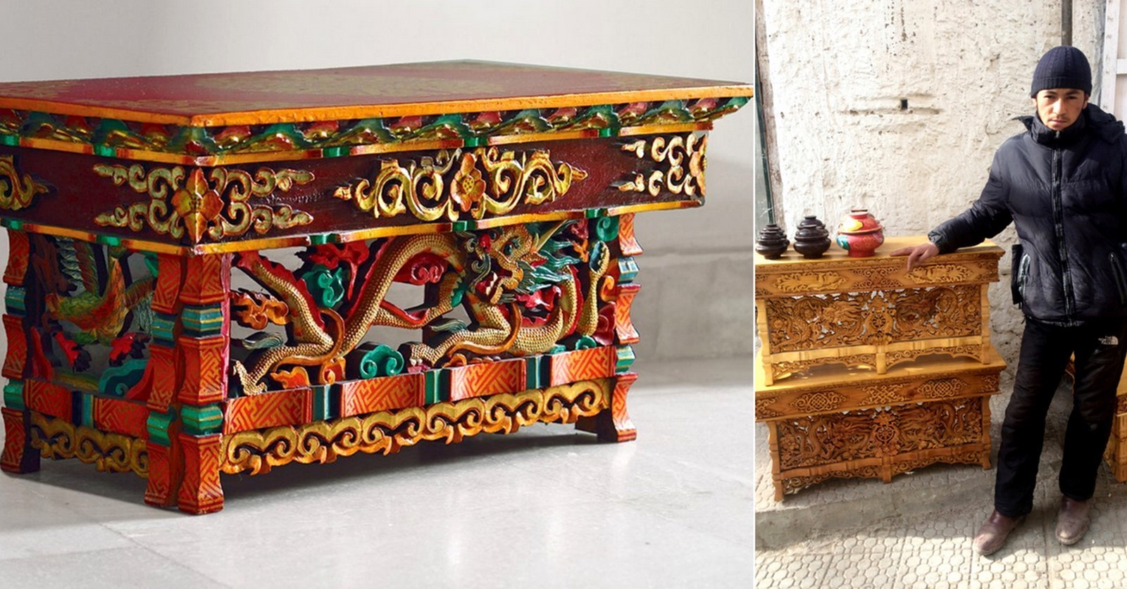 CHOKTSES- HANDCRAFTED WOODEN TABLES