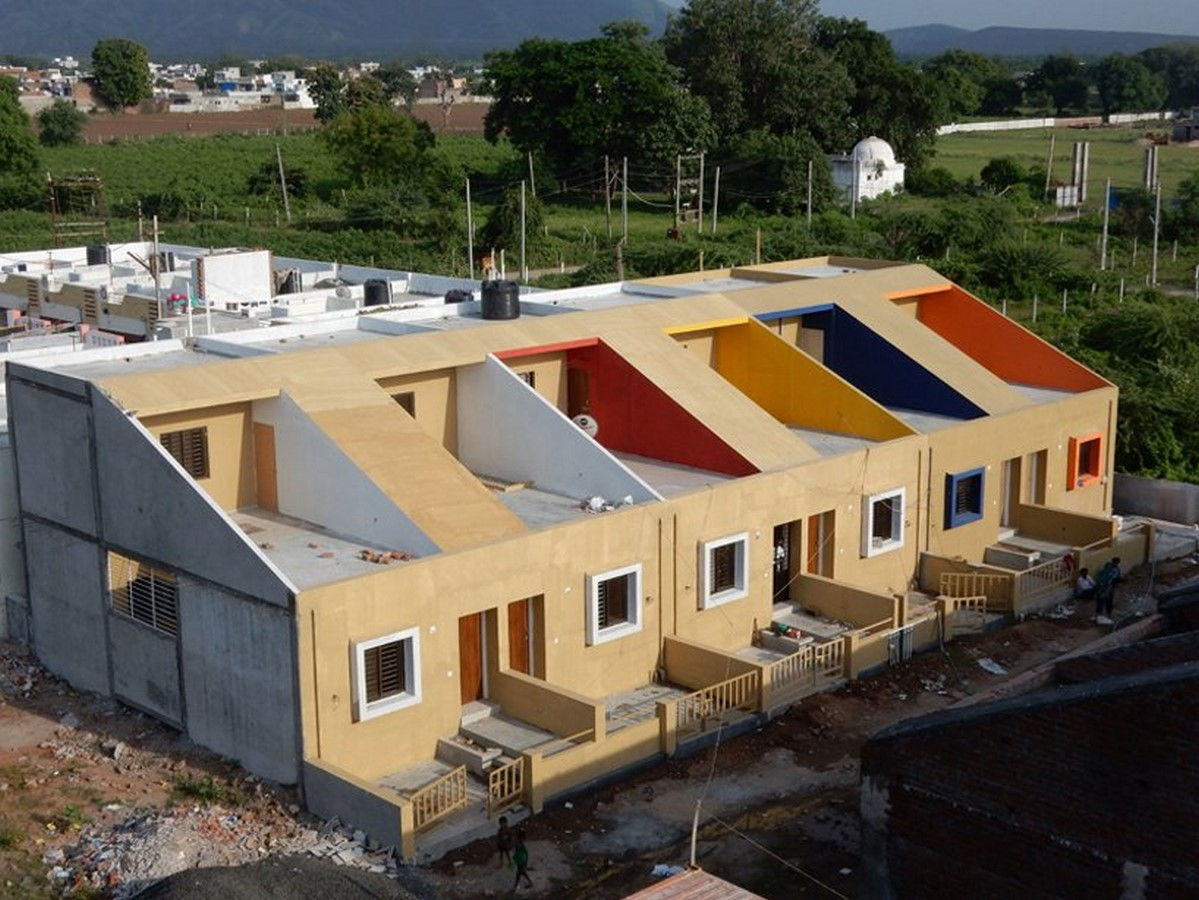 10 Examples of Affordable Housing Designs in India Sheet4