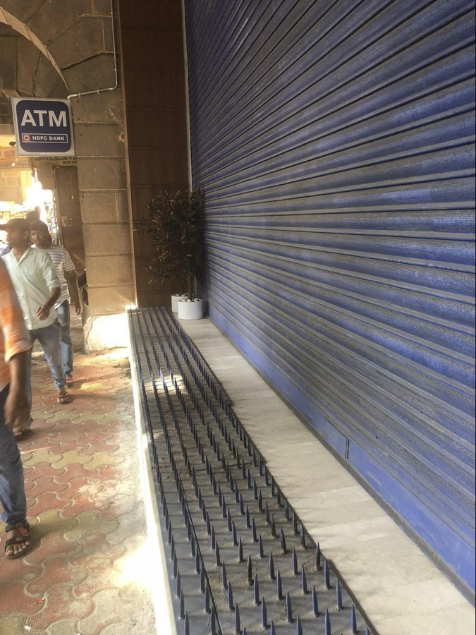 Hostile Architecture in India: Literally Fighting Poverty - Sheet11