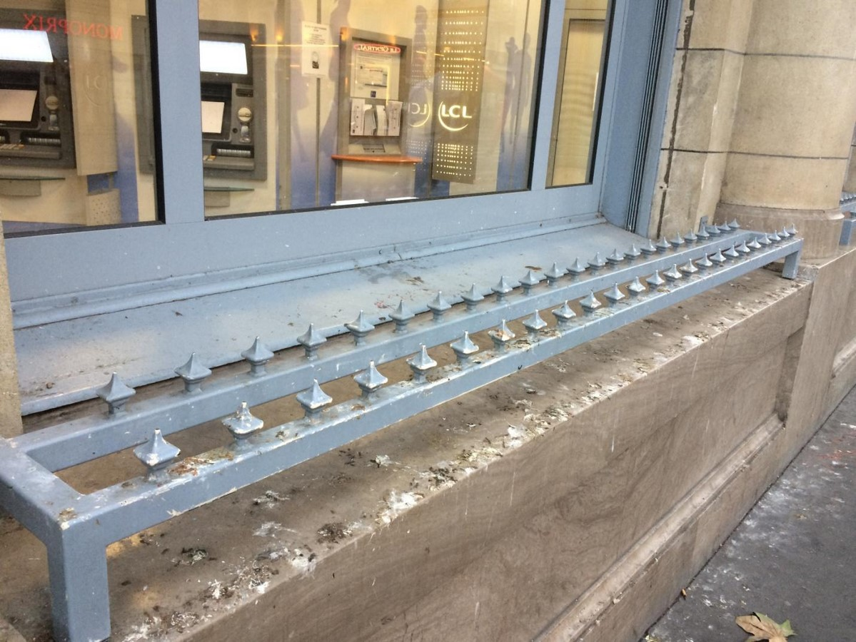 Hostile Architecture in India: Literally Fighting Poverty - Sheet2