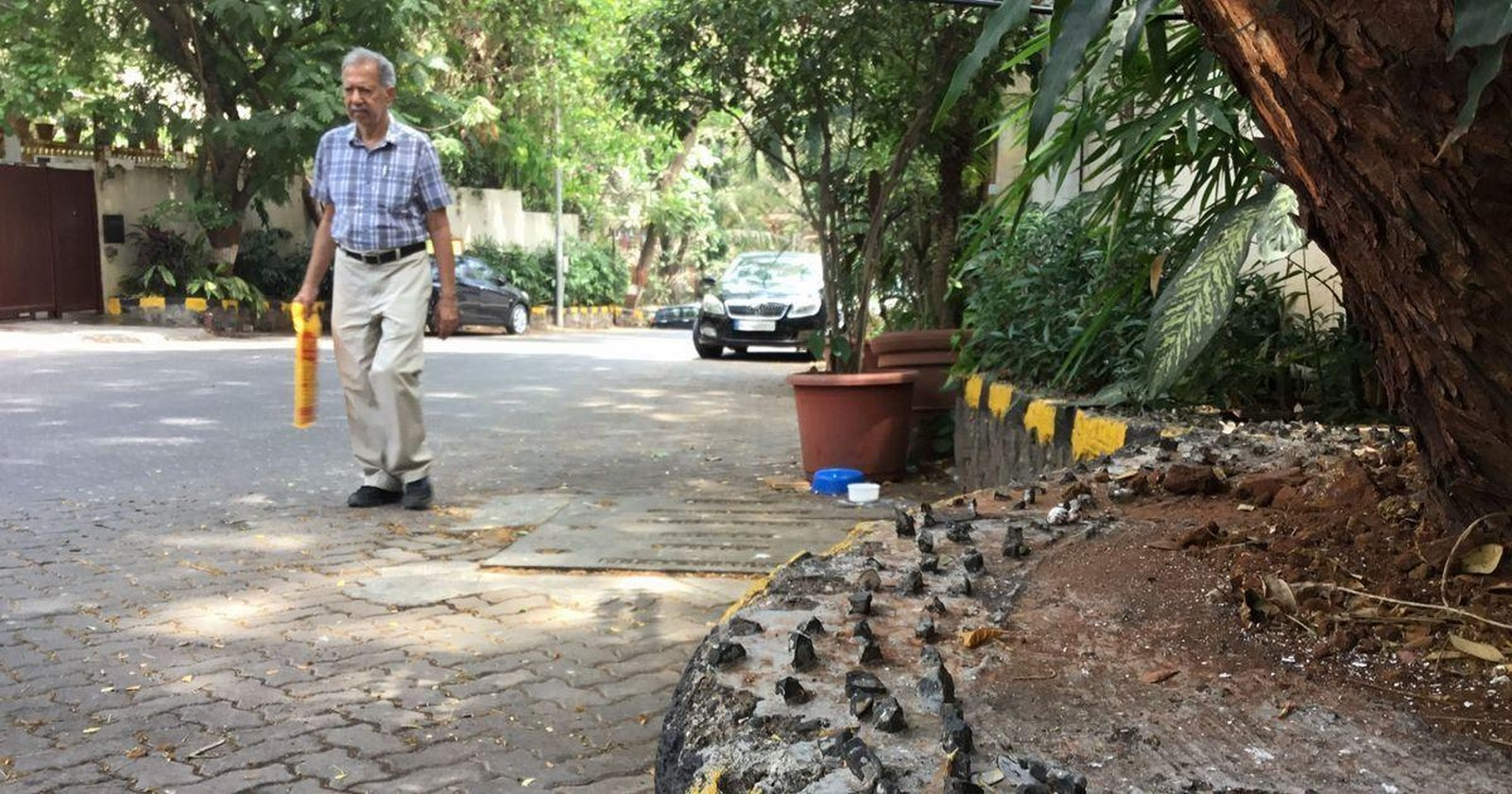 Hostile Architecture in India: Literally Fighting Poverty - Sheet8