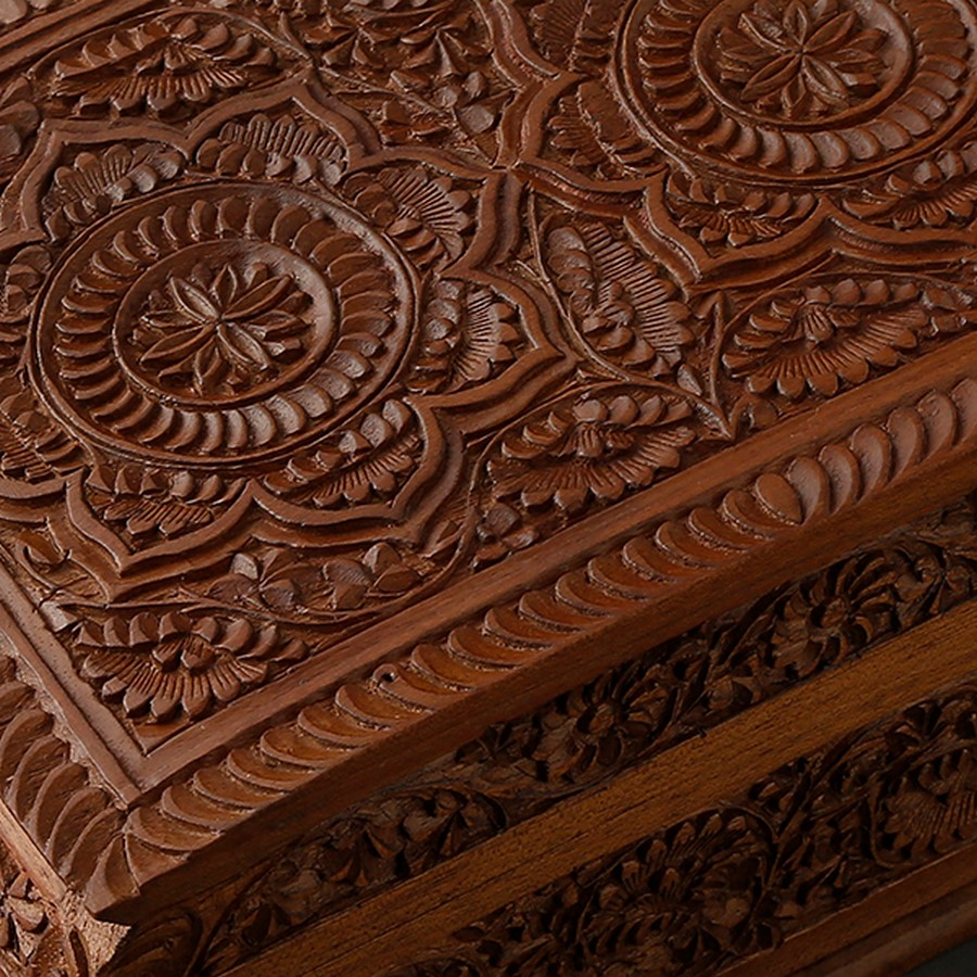 Crafts of India- Wood carving - Sheet2