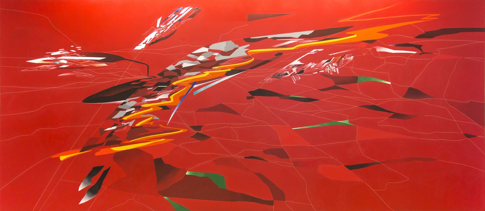 Metropolis painting (1988)