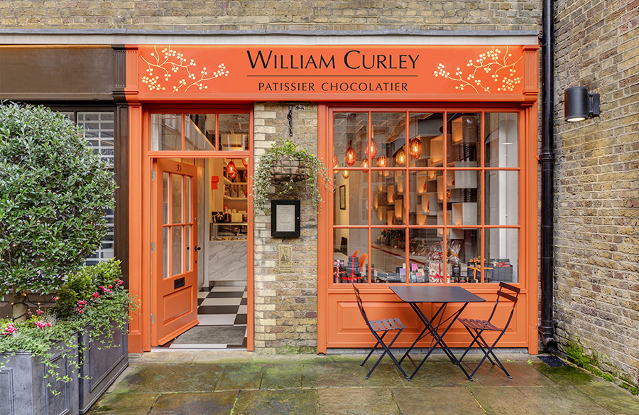 William Curley Boutique by Jonathan Clark Architects