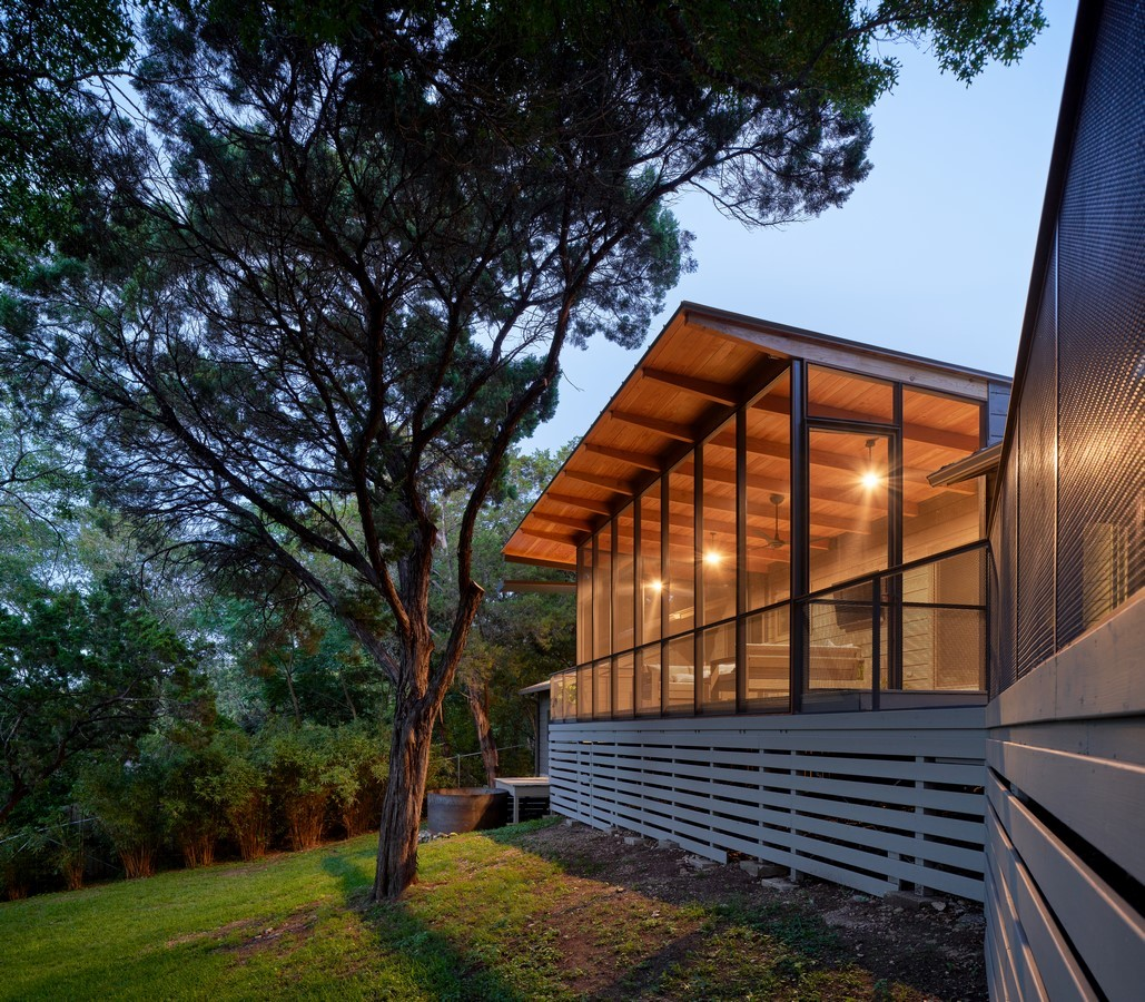 Ridgecrest Drive Porch Addition by Pollen Architecture & Design - Sheet3