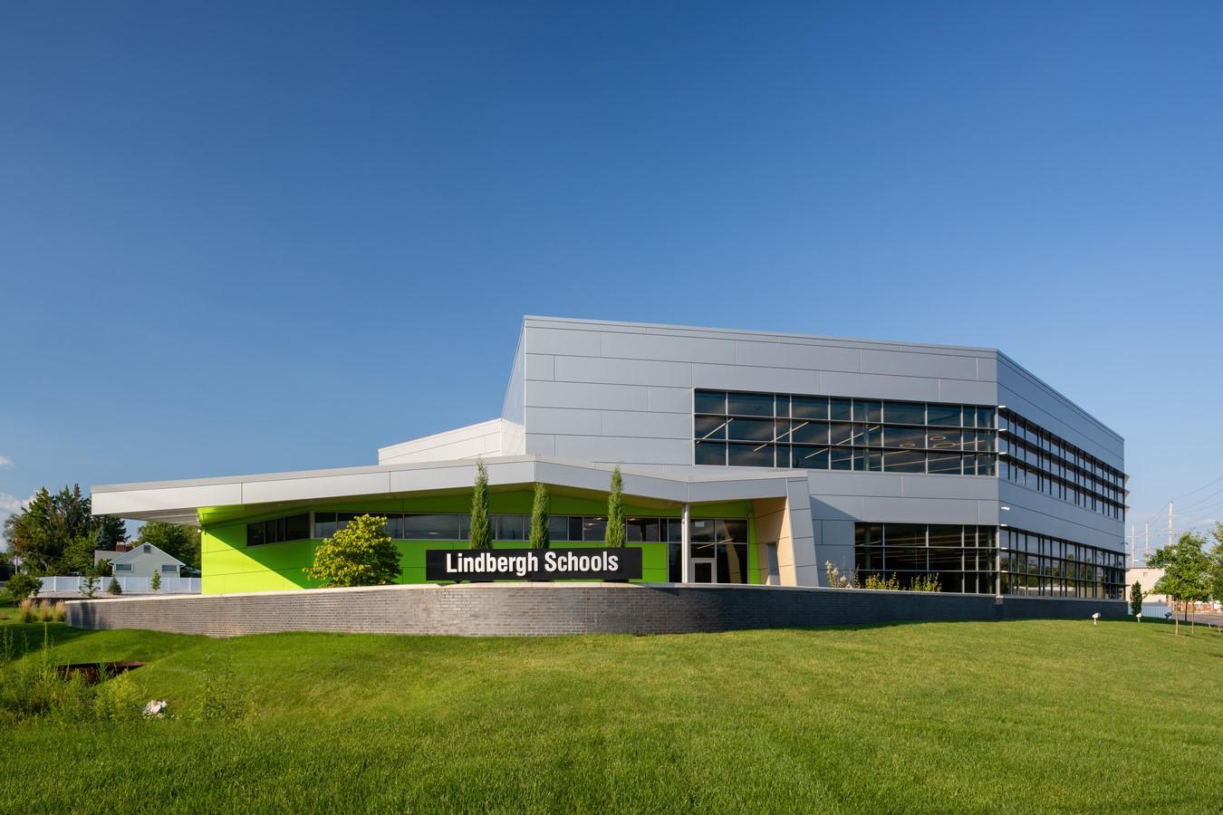 Lindbergh School Administration Center by Ittner Cordogan Clark - Sheet1