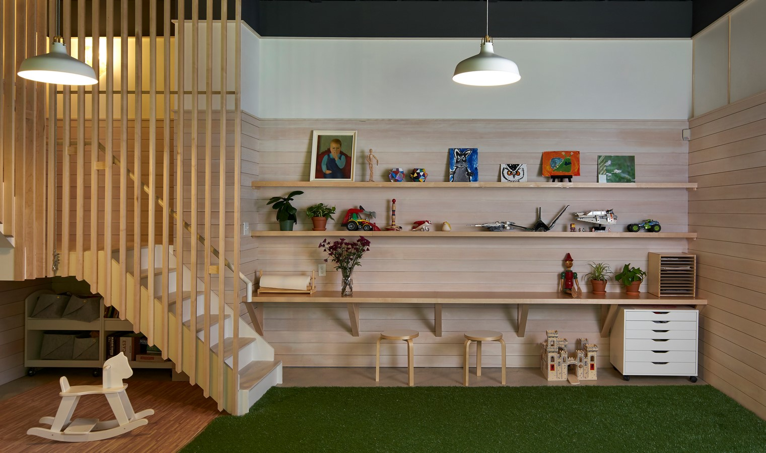 Takahashi-Harb Loft and Library by Naomi Darling Architecture LLC - Sheet3