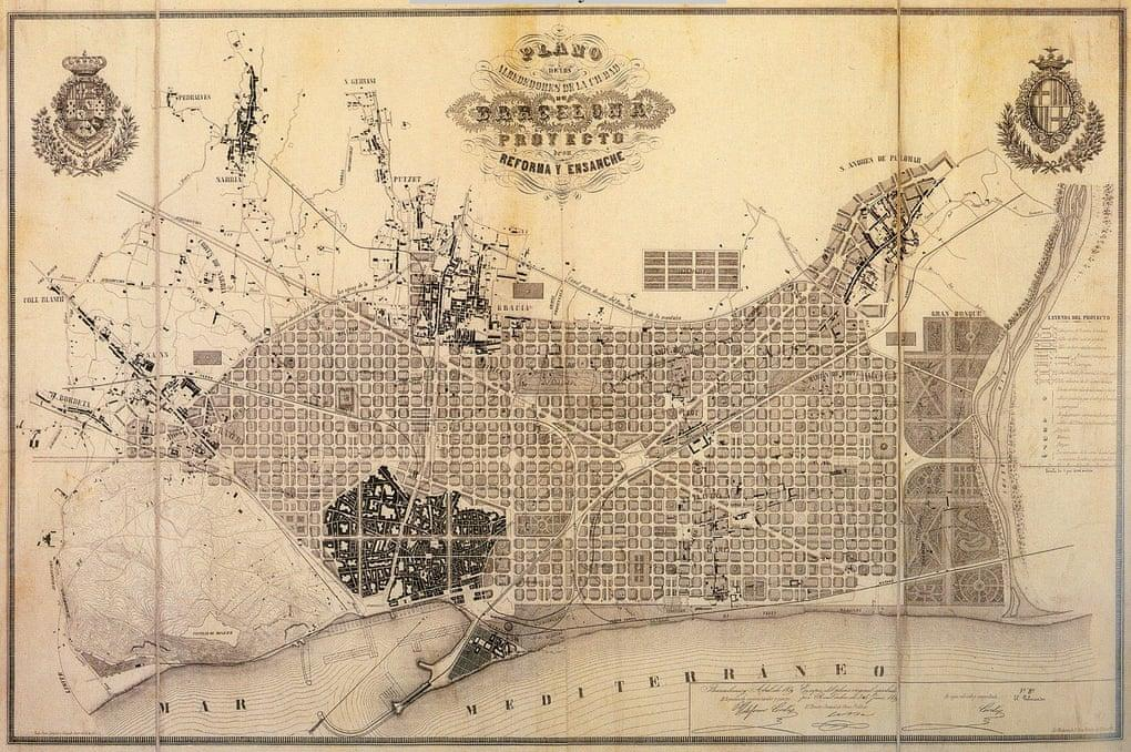 The Cerdà Plan by Illdefons Cerdà: The Extension of Barcelona - Sheet1