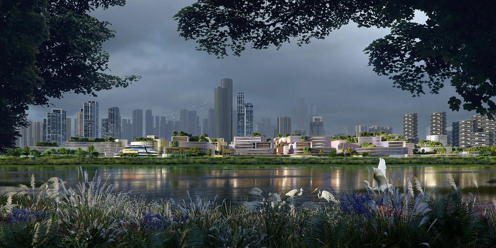 Huanggang Port Area in Shenzhen, China regenerated by Zaha Hadid Architects - Sheet2