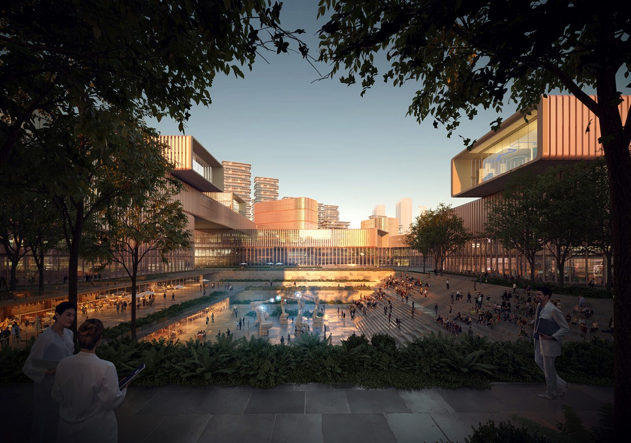 Huanggang Port Area in Shenzhen, China regenerated by Zaha Hadid Architects - Sheet4