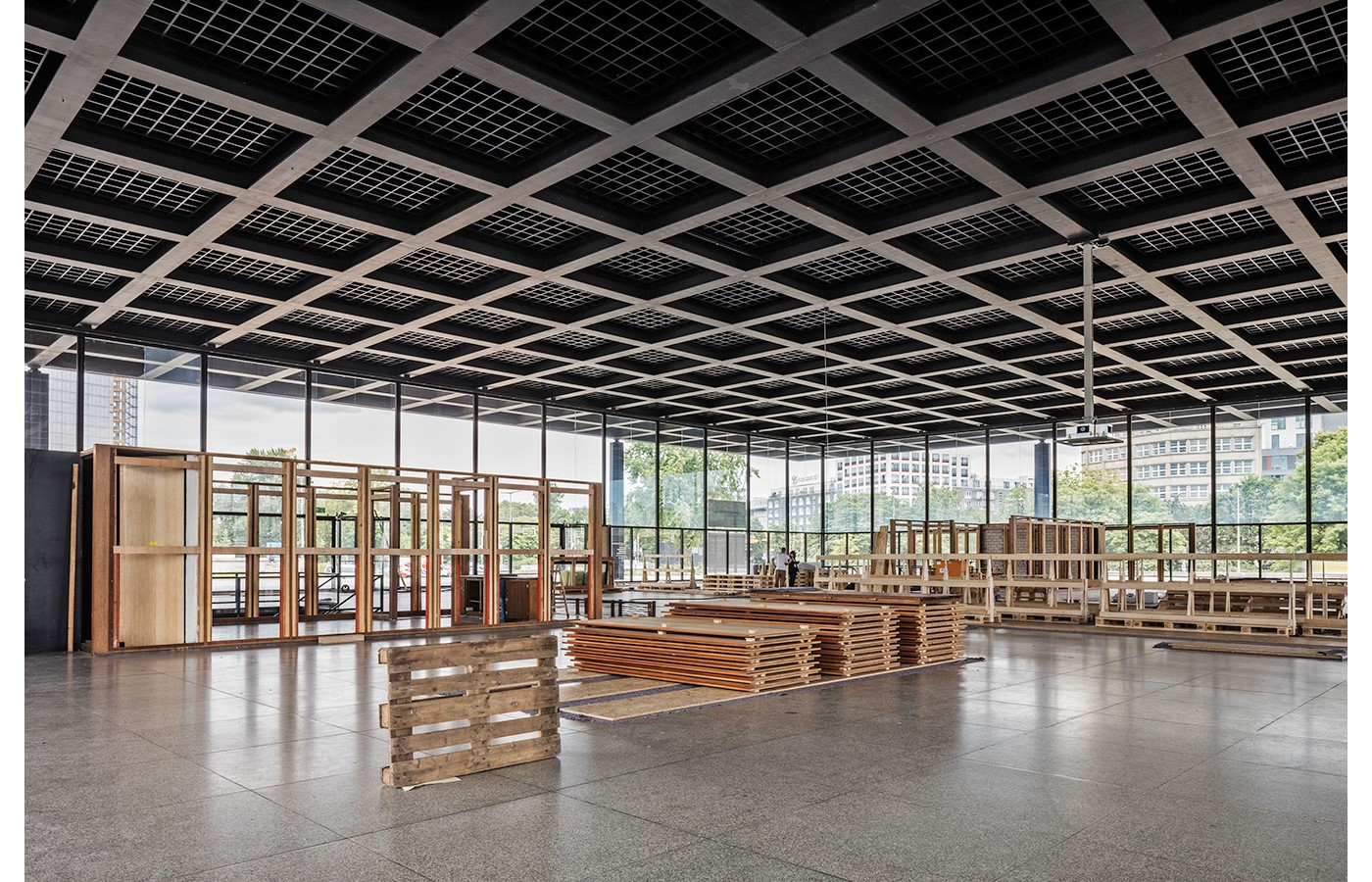 Mies Van der Rohe's Renovated New National Gallery in Berlin revealed through images by David Chipperfield - Sheet10