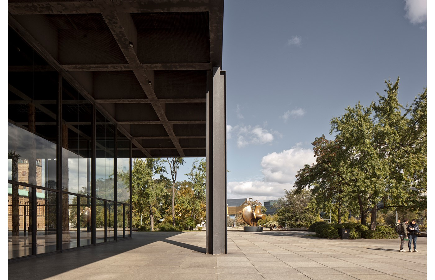 Mies Van der Rohe's Renovated New National Gallery in Berlin revealed through images by David Chipperfield - Sheet11