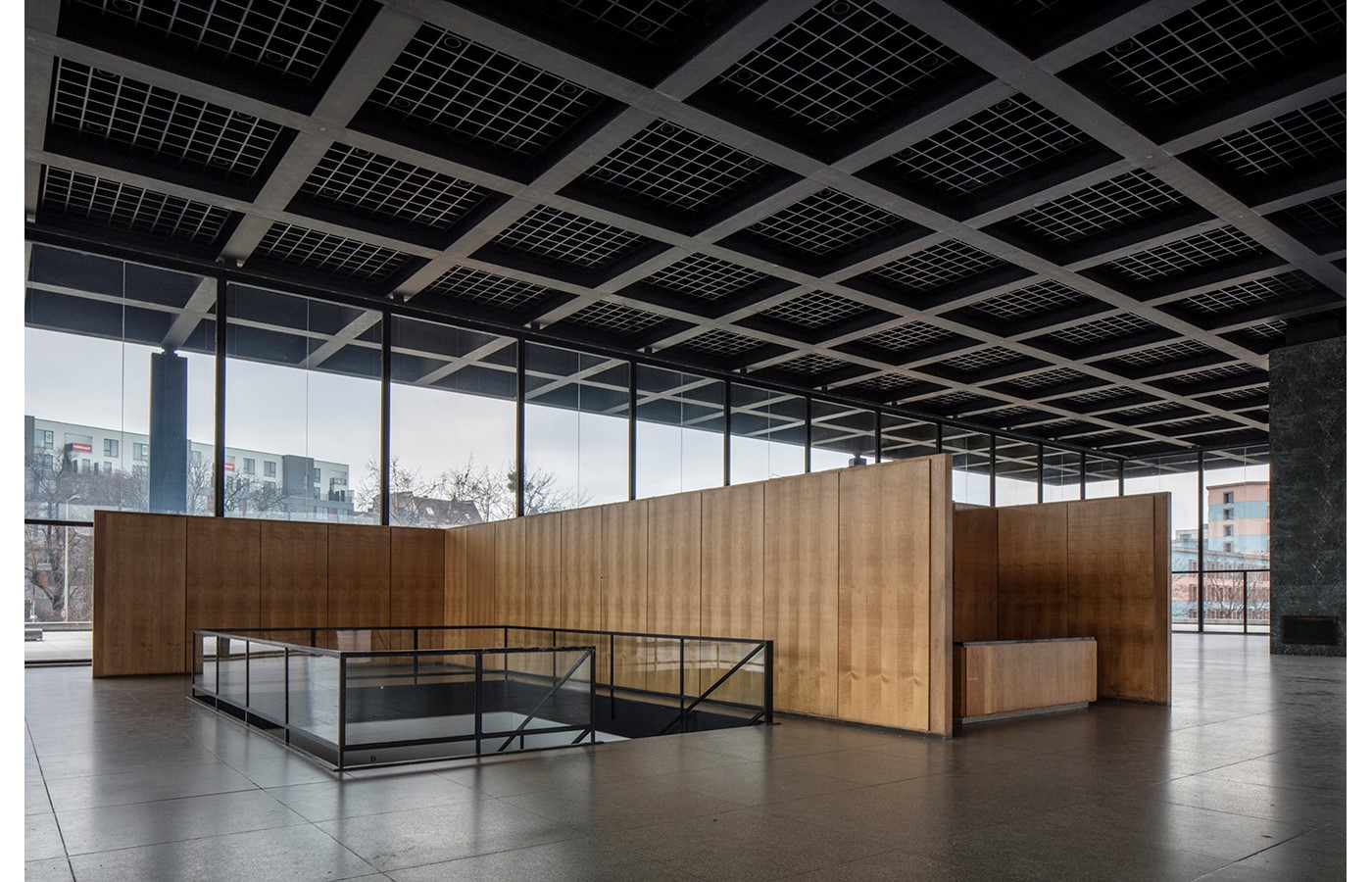 Mies Van der Rohe's Renovated New National Gallery in Berlin revealed through images by David Chipperfield- Sheet12